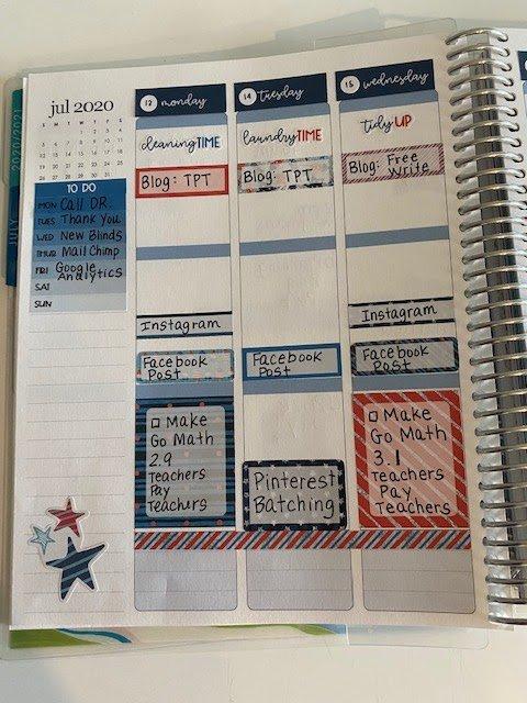 Erin Condren LifePlanner Planning a Productive Week
