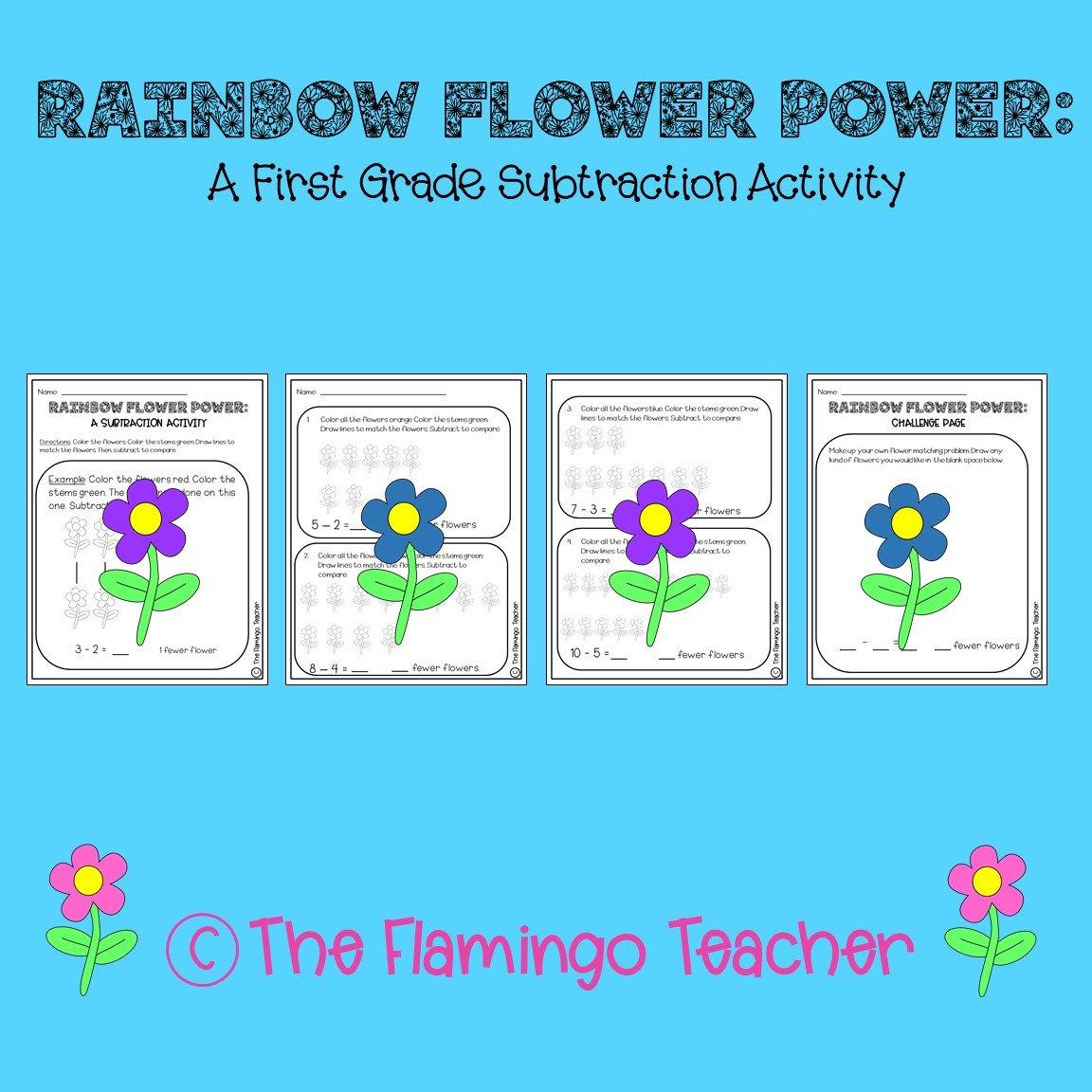 First Grade Math Subtraction Activity Go Math