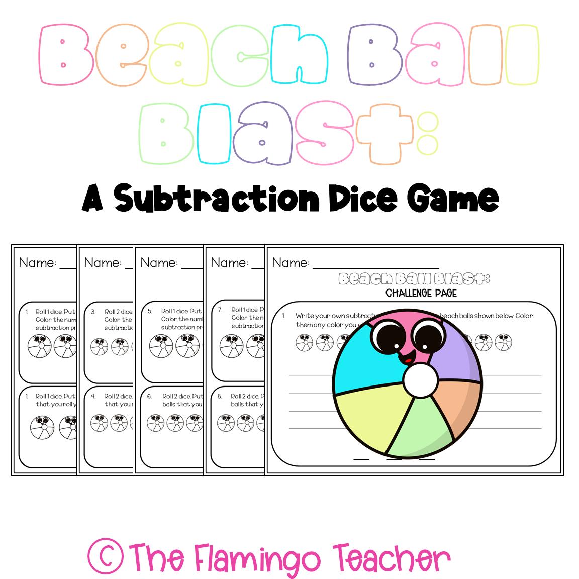 First Grade Math Subtraction